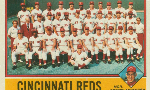 2020 Cincinnati Reds Spring Training Schedule … and Some Old Baseball Cards!