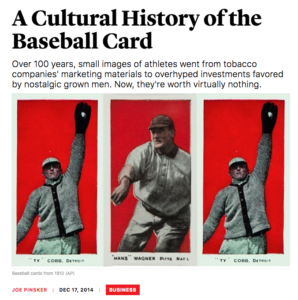 A Cultural History of the Baseball Card