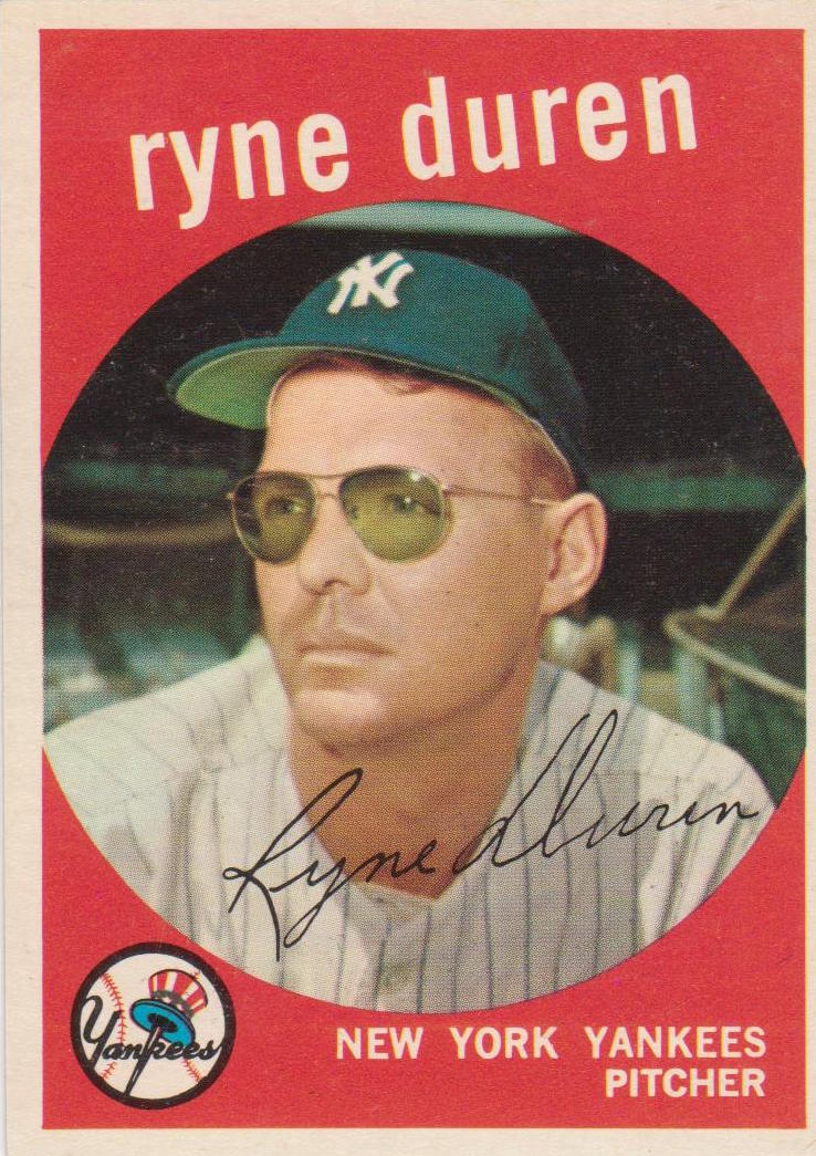 1959 Topps Ryne Duren