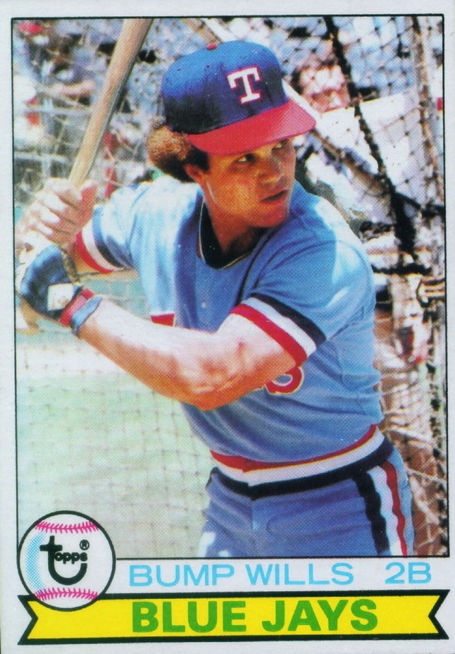1979 Topps Bump Wills (Blue Jays)
