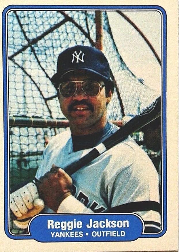 1982 Fleer Reggie Jackson