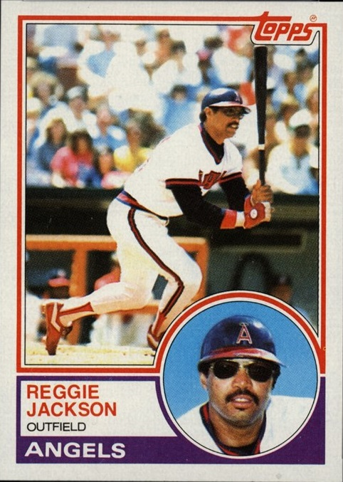 1983 Topps Reggie Jackson