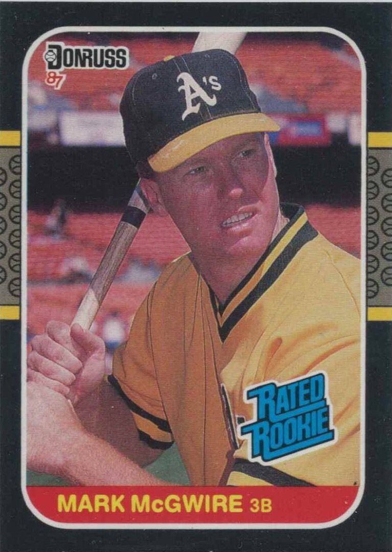 The Big 5 A Rundown Of Major Mark Mcgwire Rookie Cards Wax Pack Gods