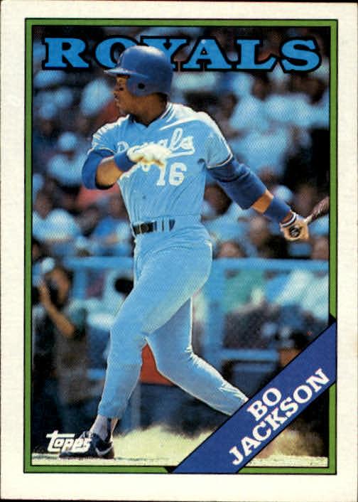 1988 Topps Bo Jackson