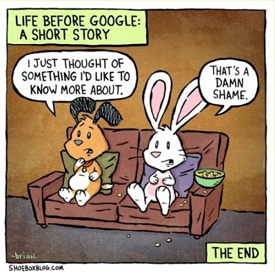 Before Google - Damn Shame