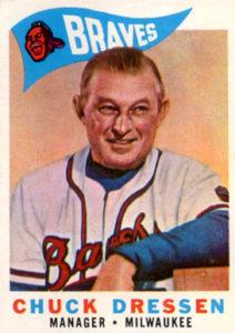 1960 Topps Chuck Dressen