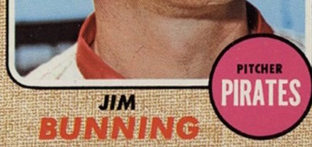 How to Get No-Hatted by Topps — Updated for 1968 by Jim Bunning