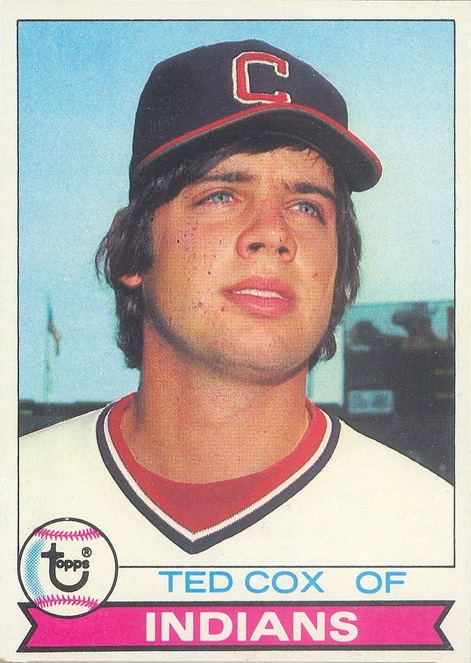 1979 Topps Ted Cox