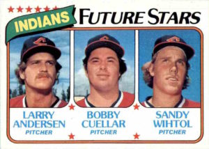 1980 Topps Indians Future Stars