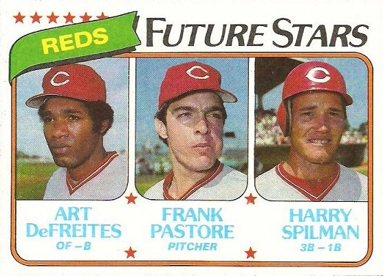1980 Topps Reds Future Stars