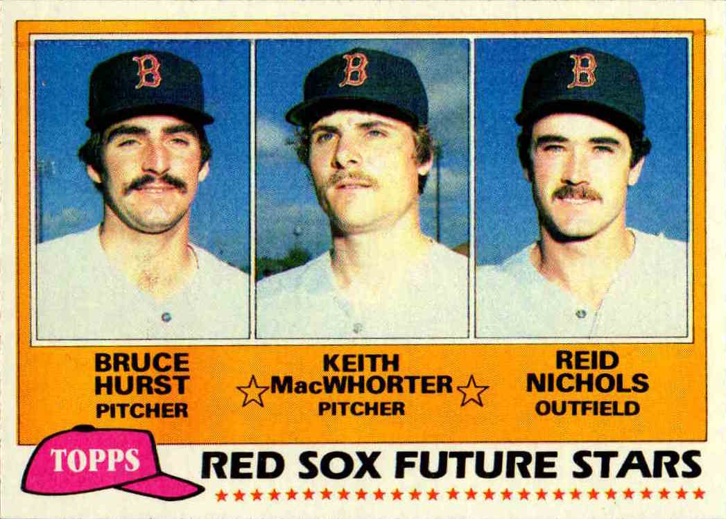 1981 Topps Red Sox Future Stars