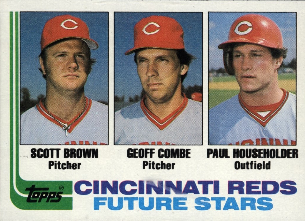 1982 Topps Reds Future Stars