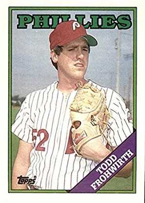 1988 Topps Todd Frohwirth