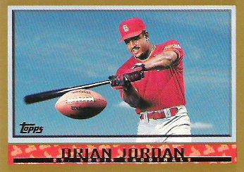 Topps Brian Jordan