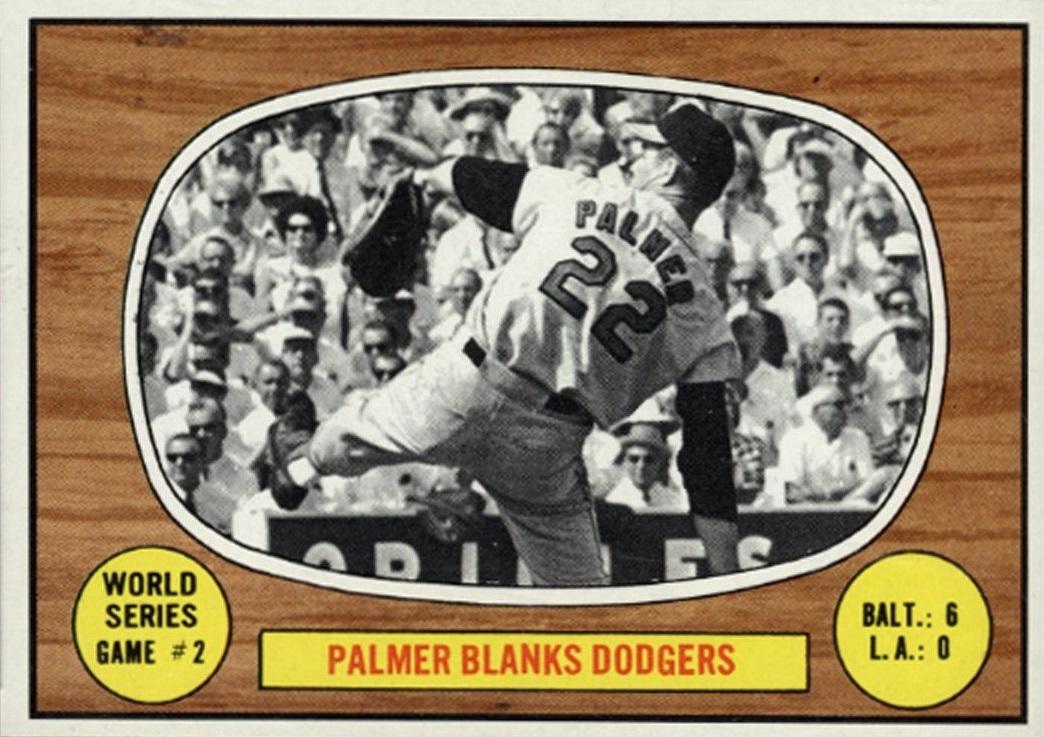 1967 topps palmer blanks dodgers