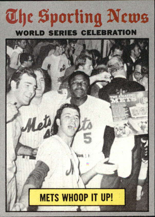 1970 topps Mets Whoop It Up!