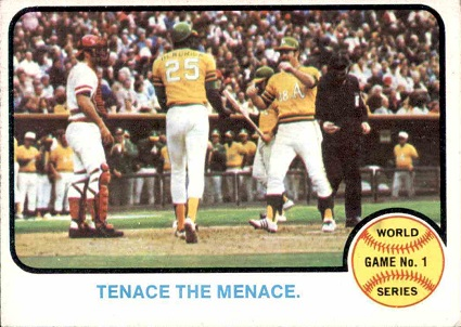 1973 topps tenace the menace