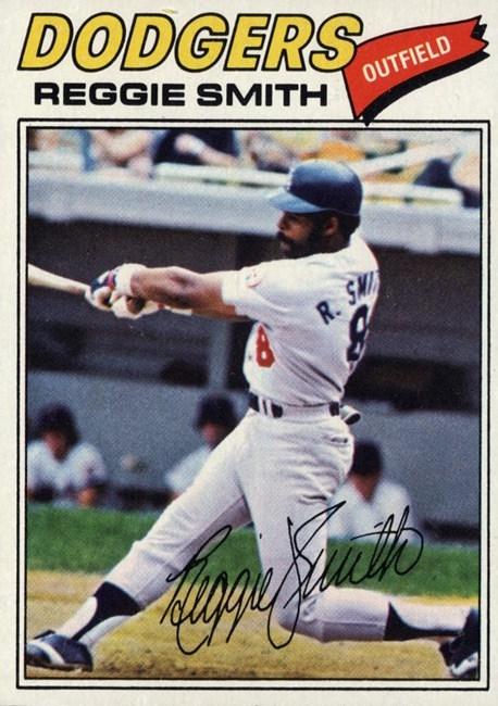 1977 Topps Reggie Smith