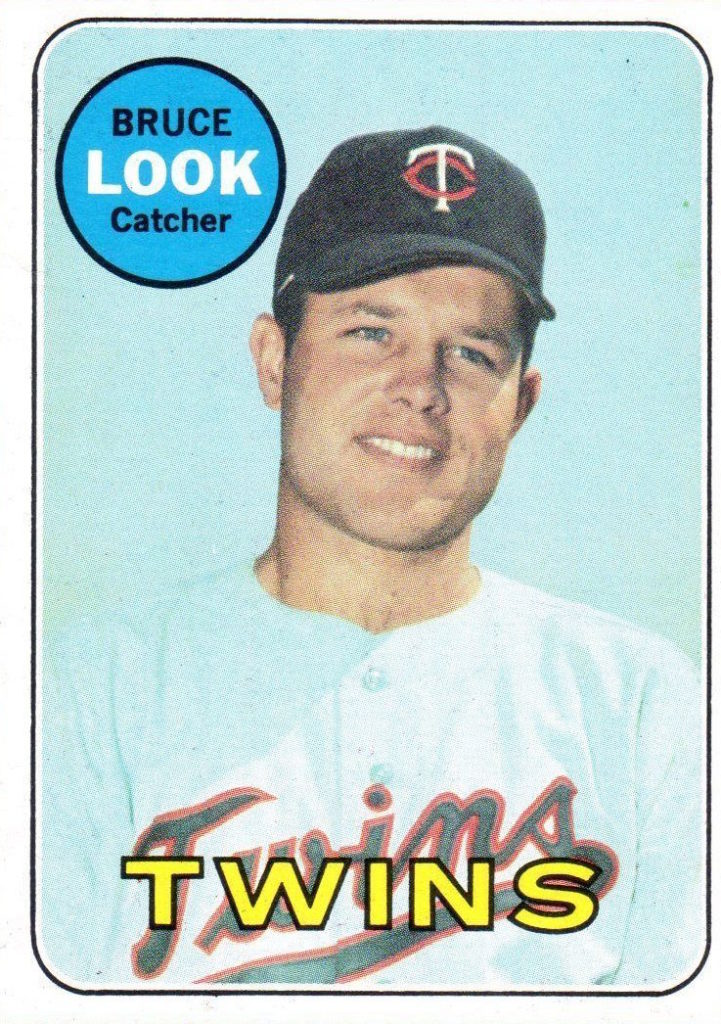 The Mystery Of The 1969 Topps Bruce Look Baseball Card
