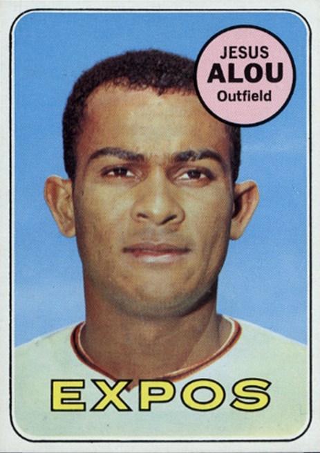 1969 Topps Jesus Alou