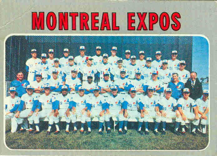 35 Facts Baseball Card Collectors Need to Know About the Montreal Expos Baseball