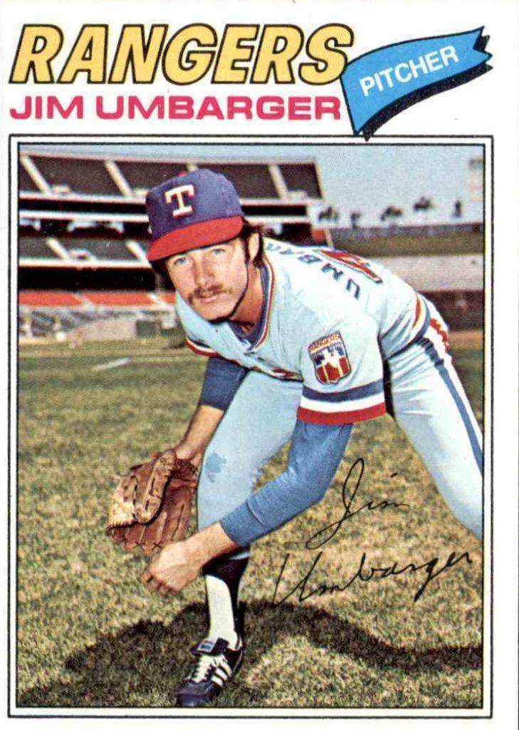 1977 Topps Jim Umbarger