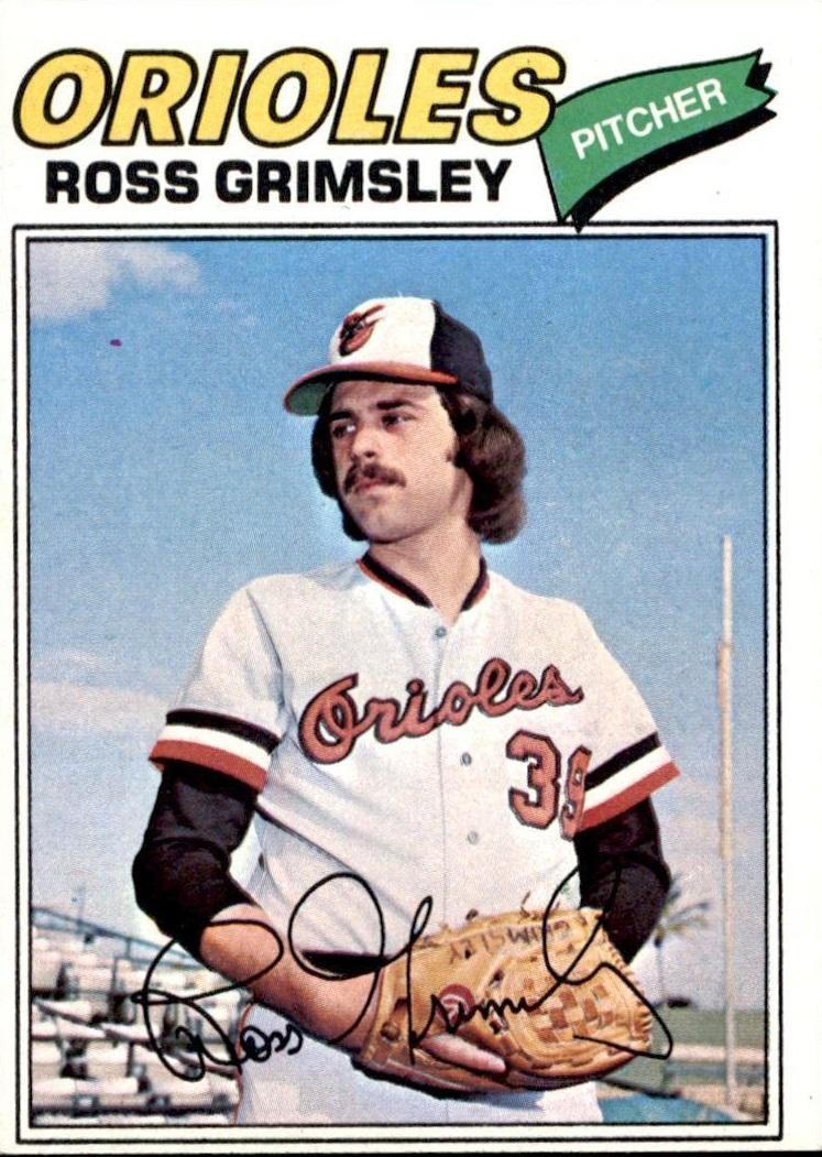 1977 Topps Ross Grimsley