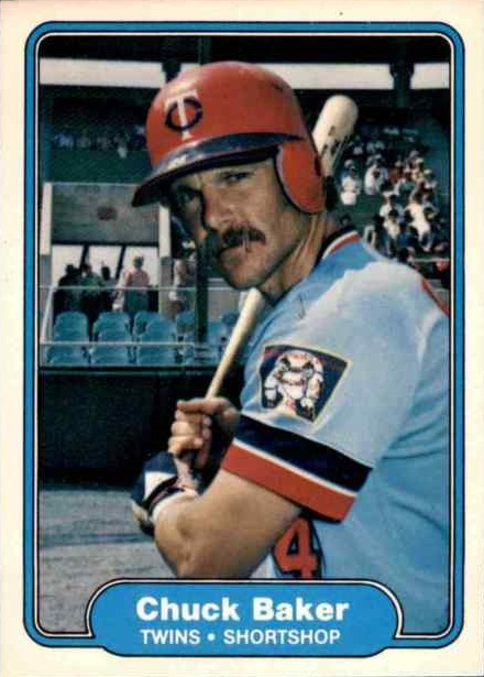 1982 Fleer Chuck Baker