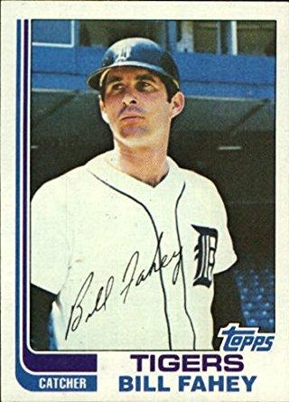 1982 Topps Bill Fahey