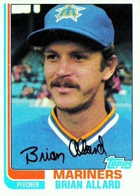 1982 Topps Brian Allard