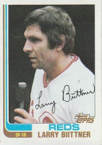 1982 Topps Larry Biittner