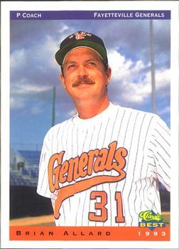 1993 Classic Best Fayetteville Generals Brian Allard