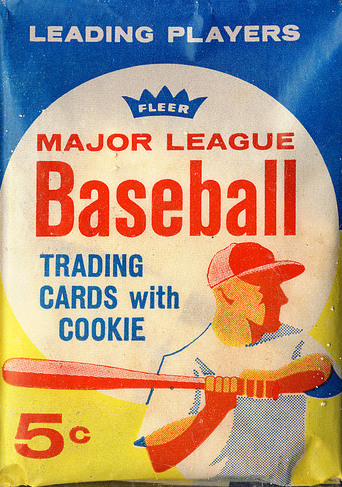 1963 Fleer Baseaball Wax Pack