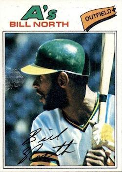 1977 Topps Bill North