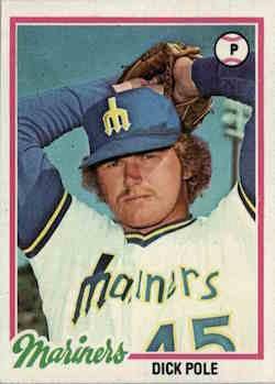 1978 Topps Dick Pole