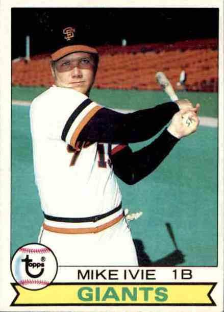 1979 Topps Mike Ivie