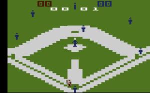 Atari 2600 Baseball