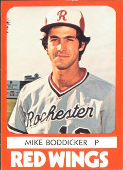 1980 TCMA Rochester Red Wings Mike Boddicker