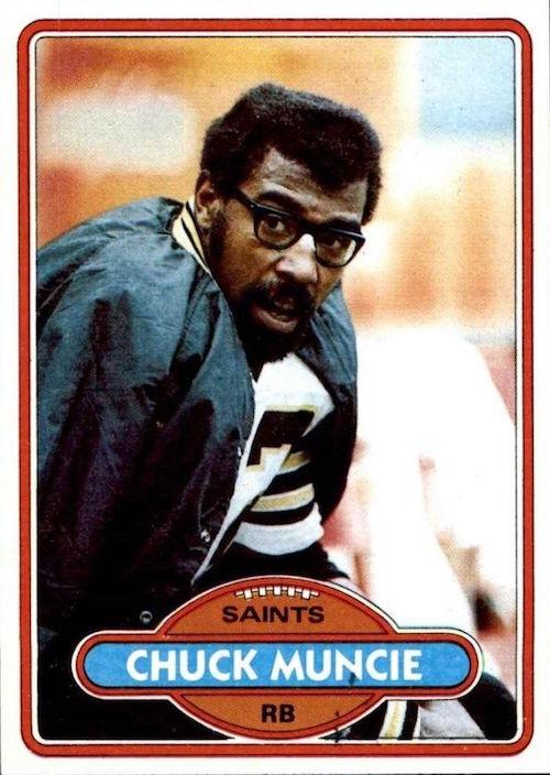 1980 Topps Chuck Muncie