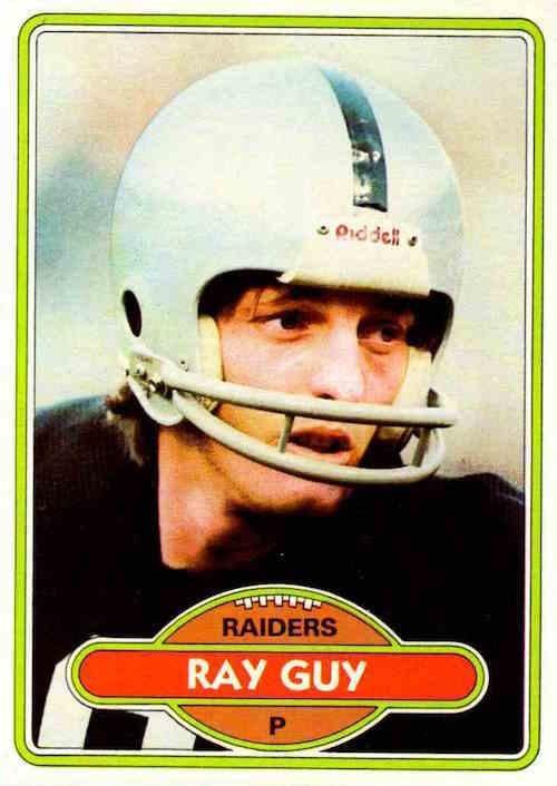 1980 Topps Ray Guy