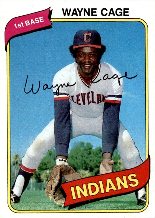 1980 Topps Wayne Cage