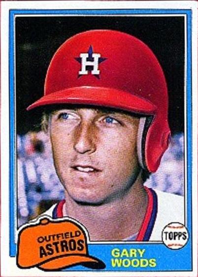 1981 Topps Gary Woods