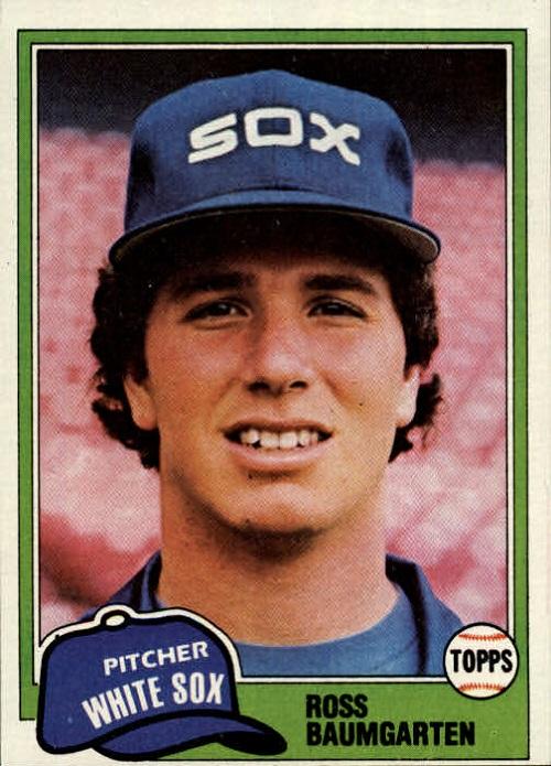 1981 Topps Ross Baumgarten