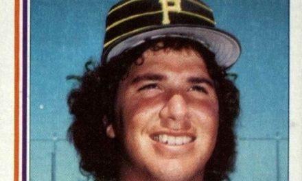 Was Ross Baumgarten the Happiest Man on a Baseball Card?