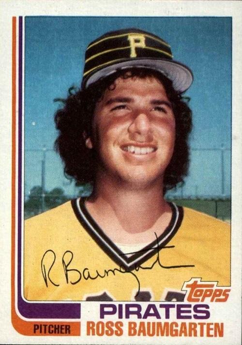 1982 Topps Traded Ross Baumgarten
