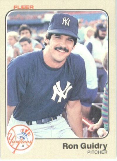 1983 Fleer Ron Guidry