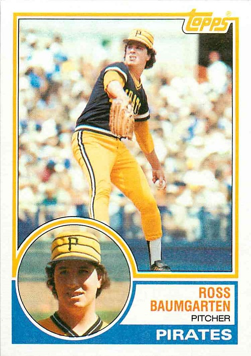 1983 Topps Ross Baumgarten