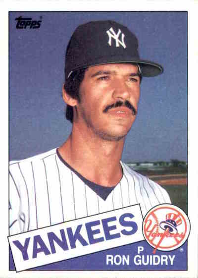 1985 Topps Ron Guidry