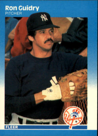 1987 Fleer Ron Guidry