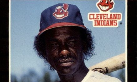 Ron Washington Had a Rough Night with His 1989 Donruss Card